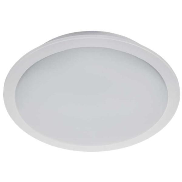 Φωτιστικό Μπάνιου LED Στρογγυλό Χωνευτό 18W 4000K IP65 Ø225mm
