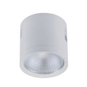 LED Σποτ Λευκό Epistar IP40 Στρογγυλό Επιφανείας 10W 2700-3000K 95mm x 70mm