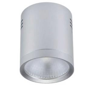 8080318-403-LED Σποτ Ασημί Epistar IP40 Στρογγυλό Επιφανείας 20W 4-4300K 95mm x 110mm