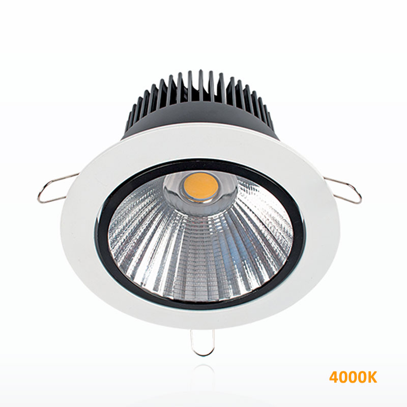 LED Spot Χωνευτό Λευκό 30W 4000K Elmark