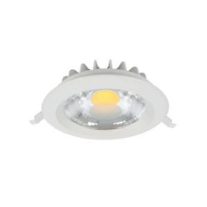 LED Spot Χωνευτό Στρογγυλό Λευκό 10W 4000-4300K Elmark