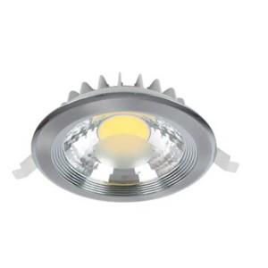 LED Spot Χωνευτό Στρογγυλό Νίκελ-Σατέν 25W 2700-3000K Elmark
