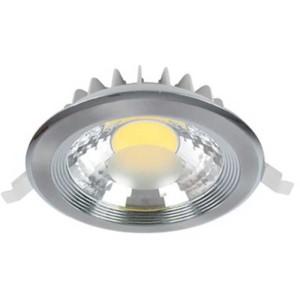 LED Spot Χωνευτό Στρογγυλό Νίκελ-Σατέν 30W 4000-4300K Elmark