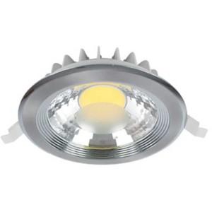 LED Spot Χωνευτό Στρογγυλό Νίκελ-Σατέν 30W 2700-3000K Elmark