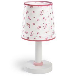 Ango 81171 S - Dream Flowers Pink κομοδίνου φωτιστικό διπλού τοιχώματος