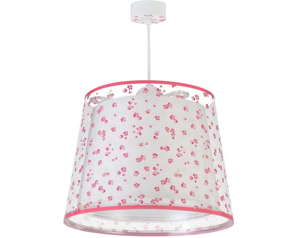 Ango 81172 S - Dream Flowers Pink κρεμαστό παιδικό φωτιστικό οροφής μεγάλο σε μέγεθος