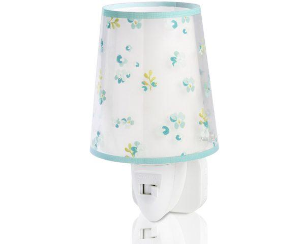 Ango 81175 H - Dream Flowers Green φωτιστικό νύκτας πρίζας LED