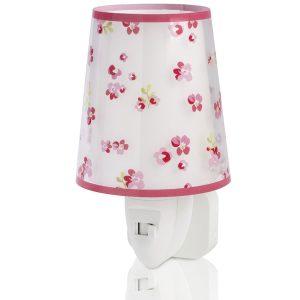 Ango 81175 S - Dream Flowers Pink φωτιστικό νύκτας πρίζας LED