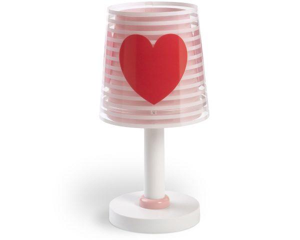 Ango 81191 S - Light Feeling Pink κομοδίνου φωτιστικό διπλού τοιχώματος