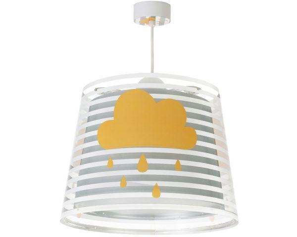 Ango 81192 E - Light Feeling Gray κρεμαστό παιδικό φωτιστικό οροφής μεγάλο σε μέγεθος