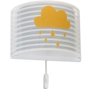 Ango 81198 E - Light Feeling Gray φωτιστικό απλίκα τοίχου διπλού τοιχώματος