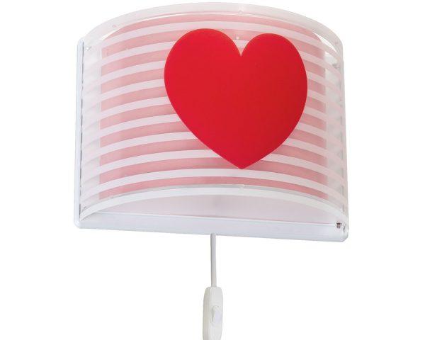 Ango 81198 S - Light Feeling Pink φωτιστικό απλίκα τοίχου διπλού τοιχώματος
