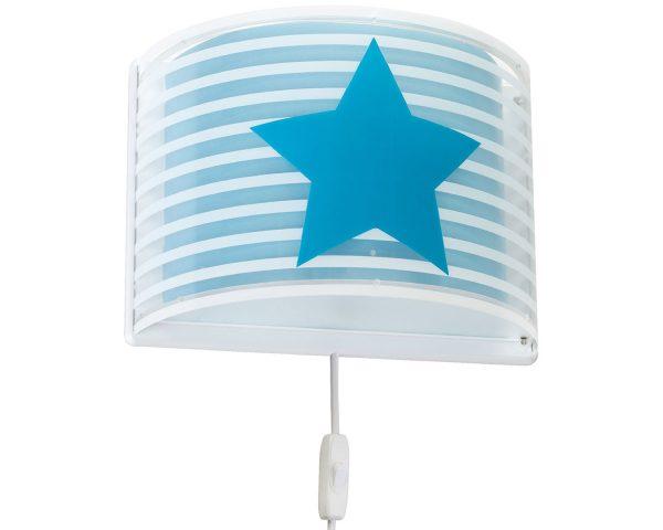 Ango 81198 T - Light Feeling Blue φωτιστικό απλίκα τοίχου διπλού τοιχώματος