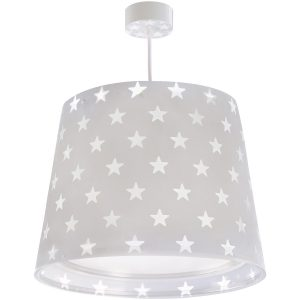 Ango 81212 E - Stars Gray κρεμαστό παιδικό φωτιστικό οροφής διπλού τοιχώματος που φωσφορίζει