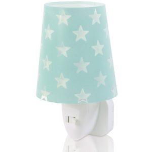 Ango 81215 H - Stars Green παιδικό φωτιστικό νύκτας πρίζας LED