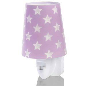 Ango 81215 L - Stars Lilac φωτιστικό νύκτας πρίζας LED