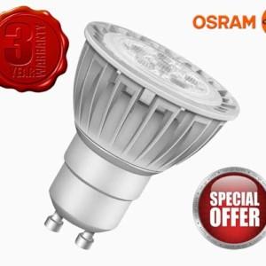 Λάμπα LED PAR16 20 36° Advanced 3W Ροοστατούμενη GU10 OSRAM