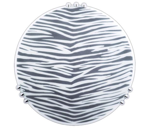 Πλαφονιέρα Οροφής Λευκή-Μαύρη E27 Eros OKTAY
