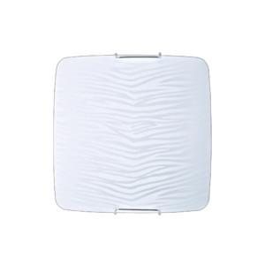 Απλίκα-Πλαφονιέρα Οροφής Λευκή-Μαύρη E27 Eros OKTAY