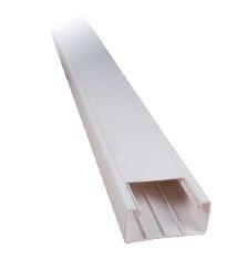 Κανάλι Αυτοκόλλητο Elmark 25x16 Πλαστικό Λευκό