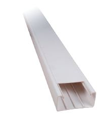 Κανάλι Αυτοκόλλητο Elmark 40x25 Πλαστικό Λευκό