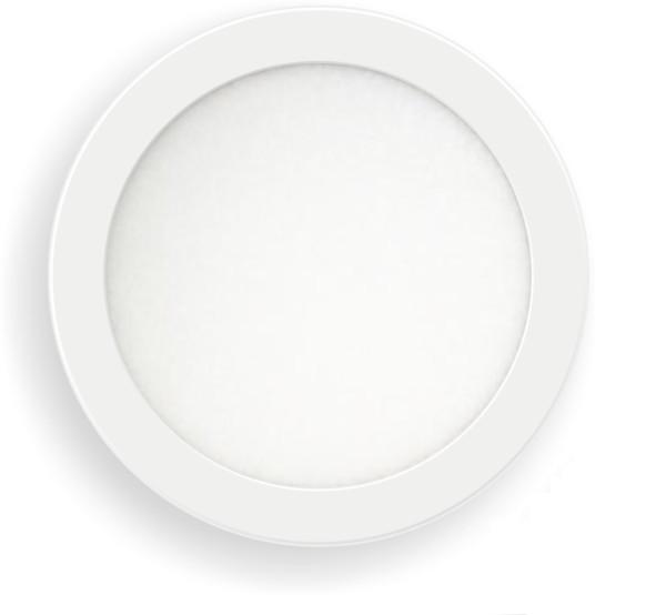 Led Πάνελ 12W - 1200 lm Στρογγυλό Χωνευτό Λευκό Ø170