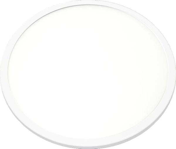 Led Πάνελ 8W - 960lm Χωνευτό Λευκό Ø90