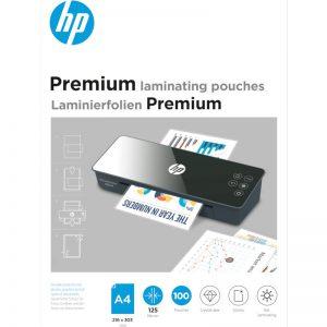 HP 9124 Premium φύλλα πλαστικοποίησης για Α4 – 125 microns – 100 τμχ