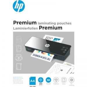 HP 9125 Premium φύλλα πλαστικοποίησης για Α4 – 250 microns – 50 τμχ