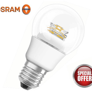 PARATHOM Clear Sparkling CLASSIC A60 E27 OSRAM