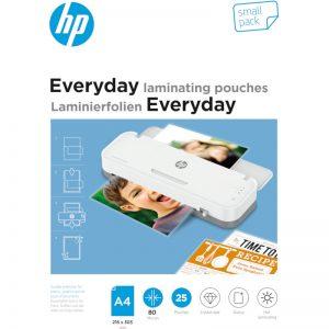 HP 9153 Everyday φύλλα πλαστικοποίησης για Α4 – 80 microns – 25 τμχ