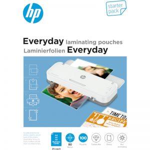HP 9158 Everyday φύλλα πλαστικοποίησης set – A4 A5 A6 επαγγ. κάρτες – 80 microns – 100 τμχ