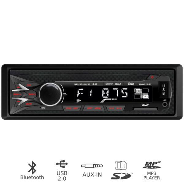 55112216-0003-Osio ACO-4515UBT Ηχοσύστημα αυτοκινήτου με Bluetooth