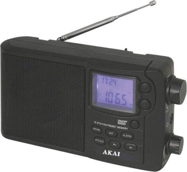 5514883-2418-Akai APR-2418 Φορητό ψηφιακό ραδιόφωνο παγκοσμίου λήψης 12 μπάντες