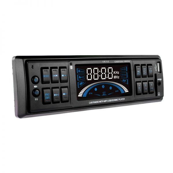 Akai CA012A-1605U Ηχοσύστημα αυτοκινήτου με  USB