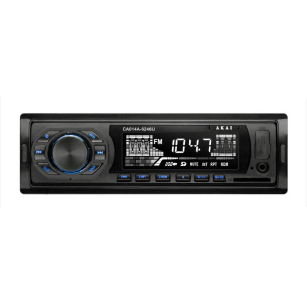 55110516-6246-Akai CA014A-6246U Ηχοσύστημα αυτοκινήτου με USB κάρτα SD και Aux-In