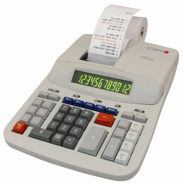 5514549-0152-Olympia CPD-512 Αριθμομηχανή με ταινία