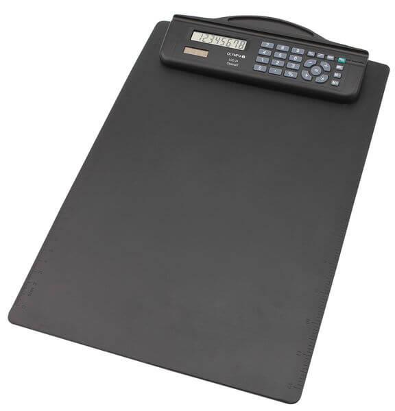 5514549-0151-Olympia LCD-24 Αριθμομηχανή με βάση κλιπ χαρτιού Α4