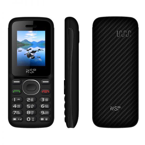 NSP 1800DS (Ελληνικό Μενού) Κινητό τηλέφωνο Dual SIM με Bluetooth και οθόνη 1.8″