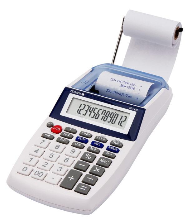 5514549-0084-Olympia CPD-425 Φορητή αριθμομηχανή με ταινία