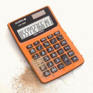 5514549-0022-Olympia LCD-1000P Αδιάβροχη αριθμομηχανή τσέπης