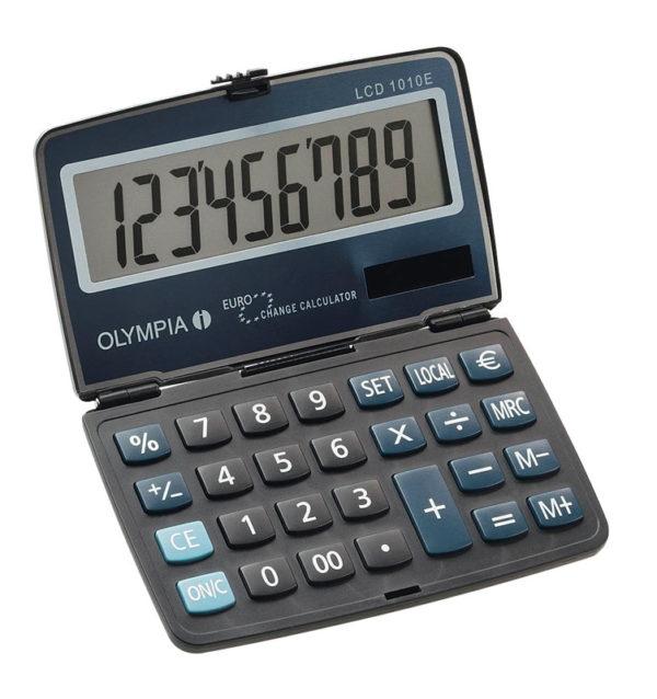 5514549-0013-Olympia LCD-1010E Αριθμομηχανή τσέπης