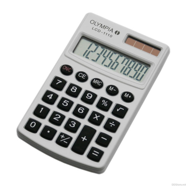5514549-0018-Olympia LCD-1110W Αριθμομηχανή τσέπης