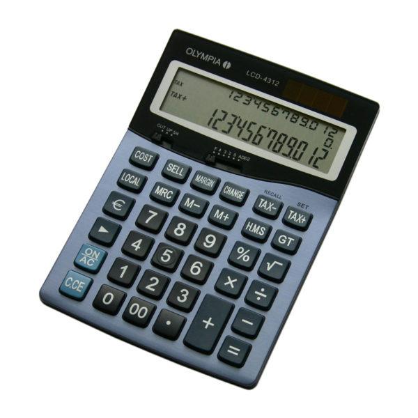 5514549-0021-Olympia LCD-4312 Αριθμομηχανή γραφείου