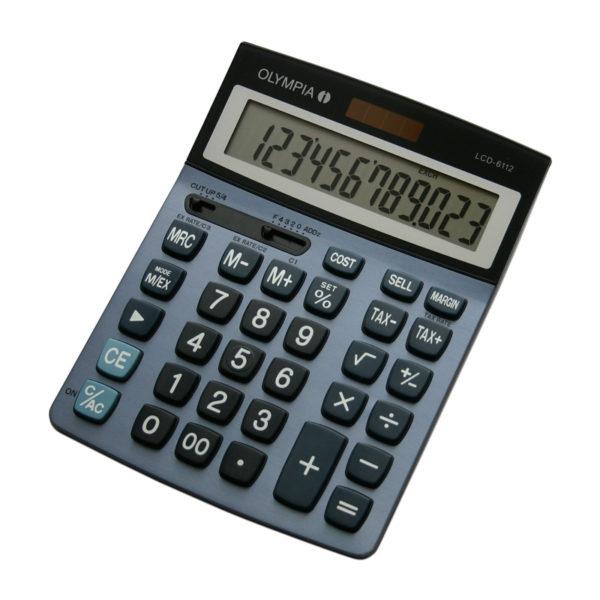 5514549-0056-Olympia LCD-6112 Αριθμομηχανή γραφείου