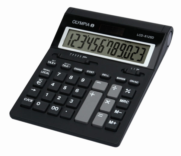 5514549-0044-Olympia LCD 612SD Αριθμομηχανή γραφείου