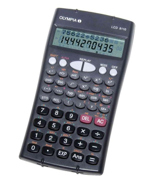 5514549-0023-Olympia LCD-8110 Επιστημονική αριθμομηχανή