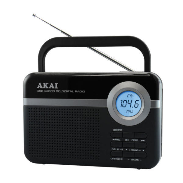 5514883-0471-Akai PR006A-471U Ψηφιακό ραδιόφωνο με USB και κάρτα SD