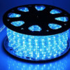 Φωτοσωλήνας Στρογγυλός Δικάναλος-3 Καλώδια Μπλέ με το Μέτρο