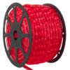 Φωτοσωλήνας Δικάναλος-3 Καλώδια Κόκκινος με το Μέτρο